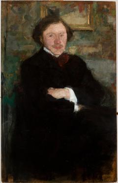 Portrait of the Pianist Prof. Antoni Dieth