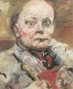 Porträt des Dichters Herbert Eulenberg