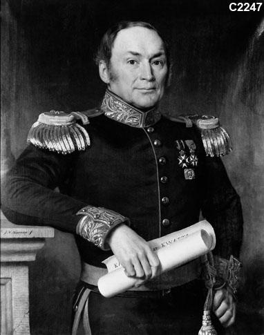 Portret Reinier Frederik, Baron van Raders (1794-1868)