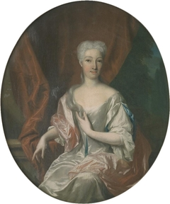 Portret van Agneta Catharina Hoeuft (1689-1758)