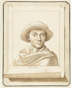 Portret van een man, naar een 16e-eeuws model
