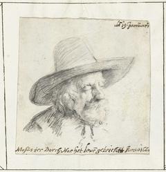 Portret van Gerard ter Borch de Oude