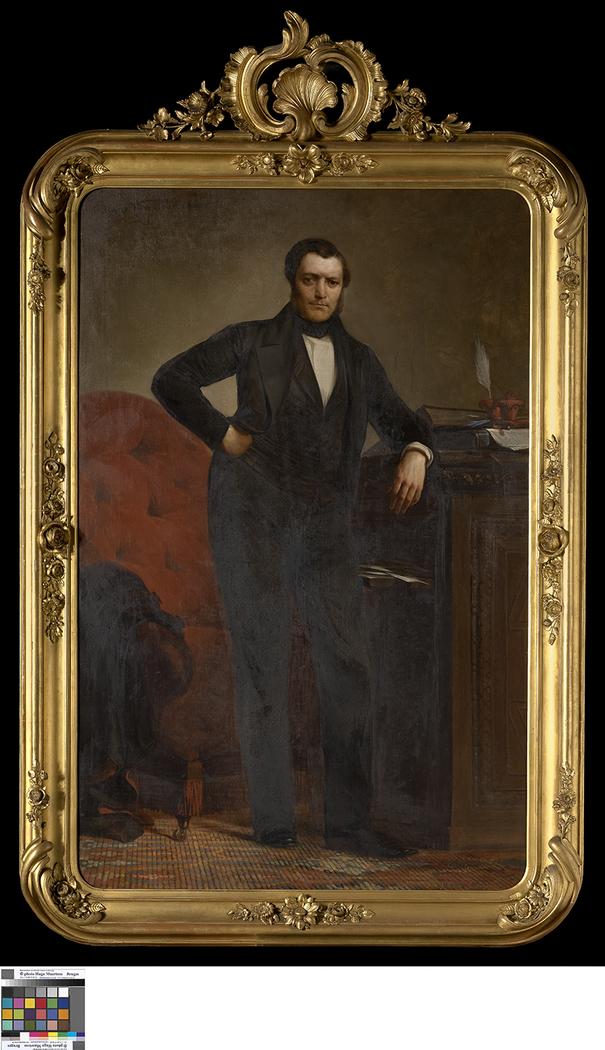 Portret van Guillaume van den Reeck
