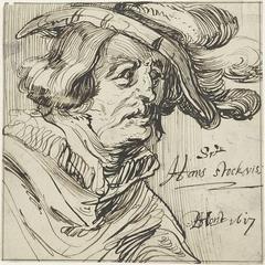 Portret van Hans Stockvis