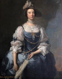 Possibly Frances Hort, Mrs John Parker (d.1764)