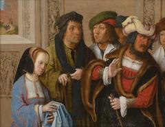 Potiphar's Wife Displays Joseph's Garment