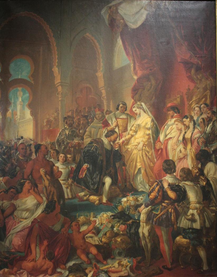 Réception de Christophe Colomb