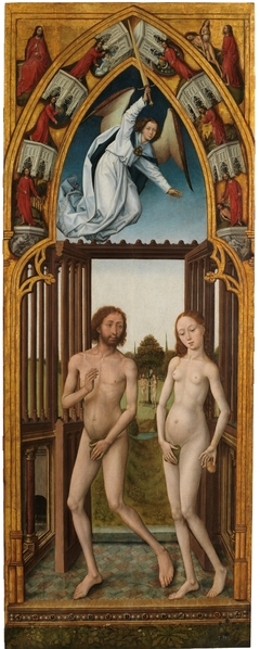 Redemption Triptych: Adam and Eve Expulsed from Paradise