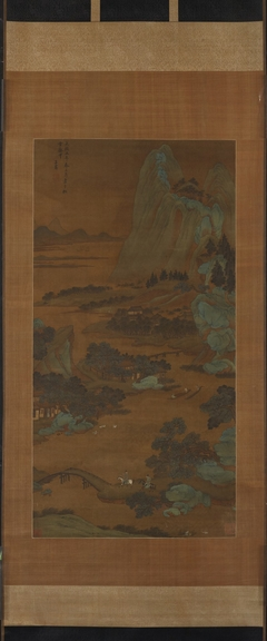 River in Mountains, Yuan tradition