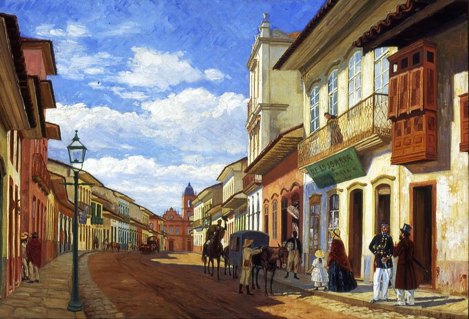 Rua do Rosário, 1858