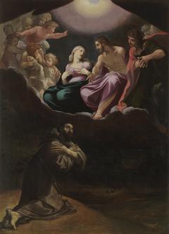 Saint Francis of Assisi in the Portiuncula