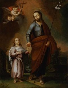San Jose y el Cristo nino
