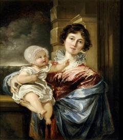 Sarah Smith, Lady Elton (1782-1830) and her Son Edmund William Elton (1822-1859)