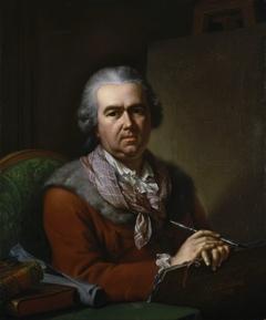 Self-portrait of Johan Heinrich Tischbein, at an older age