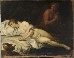 Sleeping Venus and Satyr.
