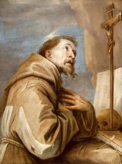 St. Franziskus im Gebet