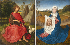 St John the Baptist and Veronica Diptych
