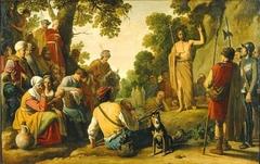 St John the Baptist Preaching in the Desert