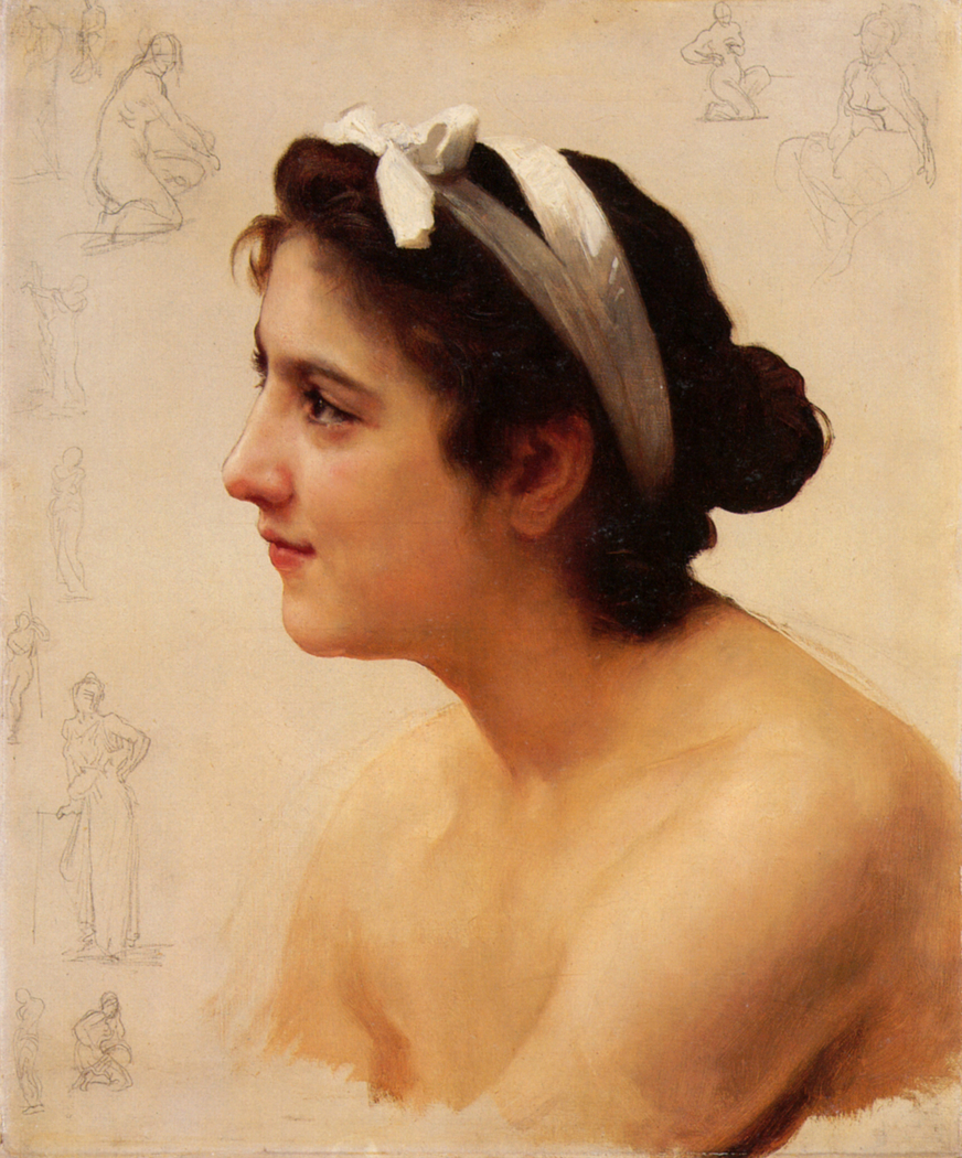 Study Of A Woman For Offering To Love (Unknown)