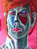 Study of Melissa K. 2008; Acrylic on Canvas; 40in X 30in; Steve Hendrickson