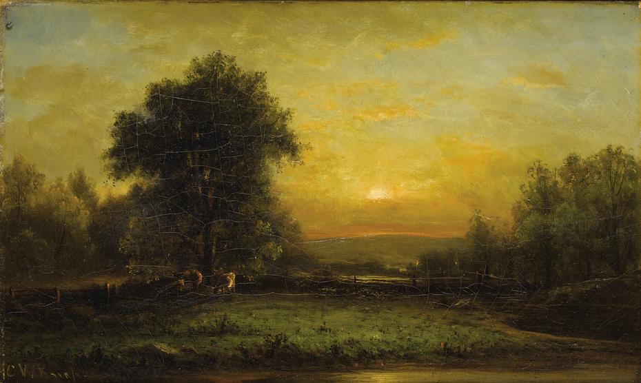 Sunset - Little Miami Valley