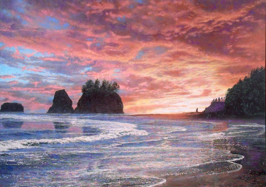 """T w i l i g h t ( Quileute Nation Sunset ) """