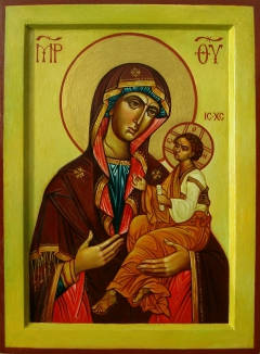 Georgian icon of the Mother of God