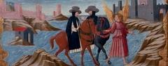 The Archangel Raphael prevents a suicide