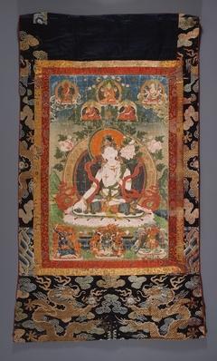 The Buddhist Goddess Sita Tara (White Tara)