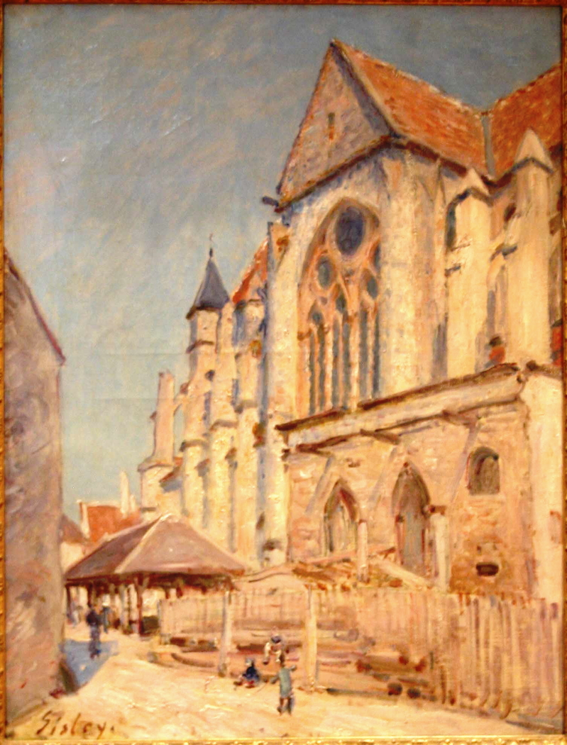 The Church in Moret