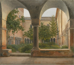 The Cloisters of San Lorenzo fuori le mura in Rome