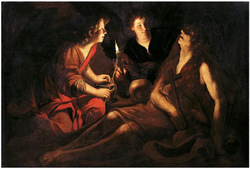 The death of Saint Mary Magdalene