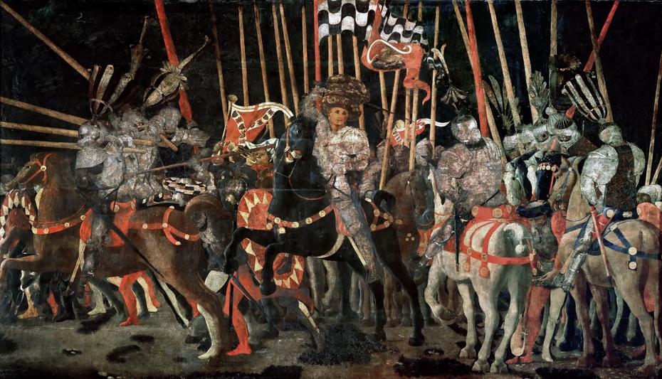 The Decisive Attack of Micheletto Attendolo at San Romano