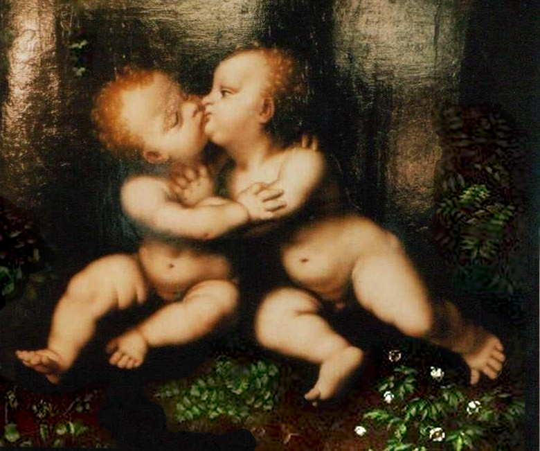 The Holy Infants Embracing