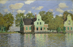 The House on the River Zaan in Zaandam