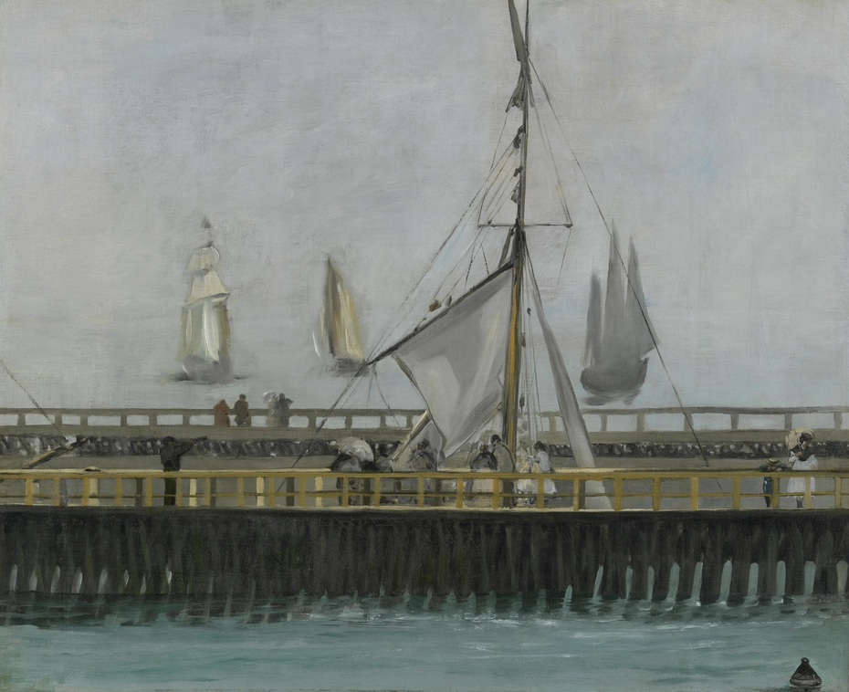 The Jetty of Boulogne-sur-Mer