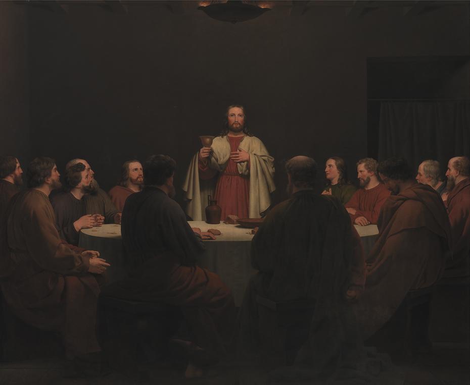 The sacrament. Altarpiece.