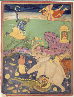 The Salvation of the King of the Elephants
