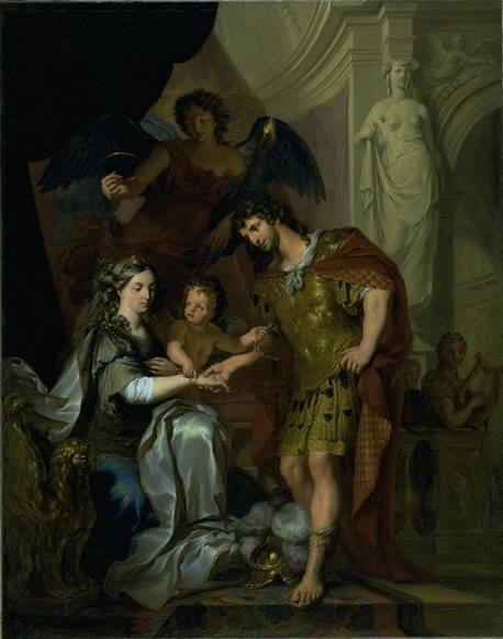 The Wedding of Alexander and Roxana (?)
