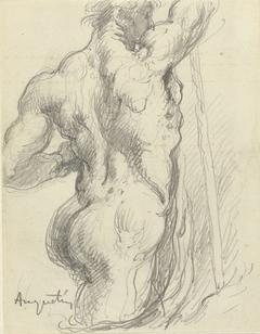 Torso van atleet (Hercules?)