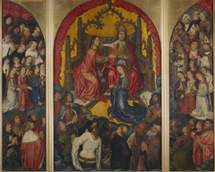 Triptych: The Coronation of the Virgin