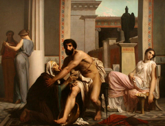 Ulysses recognized by his nurse on his return from Troy