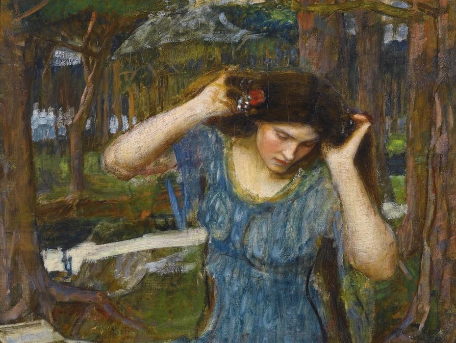 Vain Lamorna, A Study for Lamia