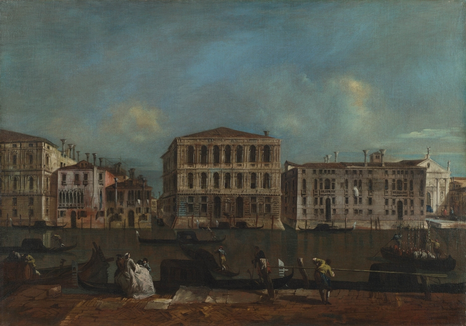 Venice: The Grand Canal with Palazzo Pesaro