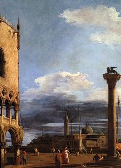 Venice: The Piazzetta towards San Giorgio Maggiore