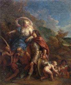 Vénus présentant des armes à Enée