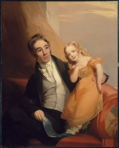 Victor René Value and His Daughter Charlotte