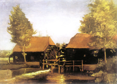 Water Mill at Kollen Near Nuenen