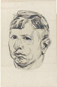 Zelfportret van Martin Monnickendam