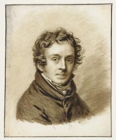 Zelfportret van Pieter Christoffel Wonder